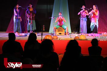 MamaSonika en Casa de Cultura de Cancún