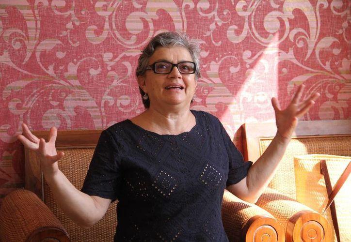 Mónica Greene ofrecerá una charla para compartir sus experiencias en la producción televisiva y documental. (Jorge Acosta/SIPSE)