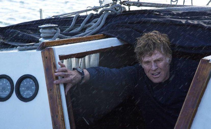 Al ver la cinta, Redford dijo que recordó lo difícil que fue el trabajo de filmación, principalmente porque estuvo mojado todo el tiempo. (Agencias)