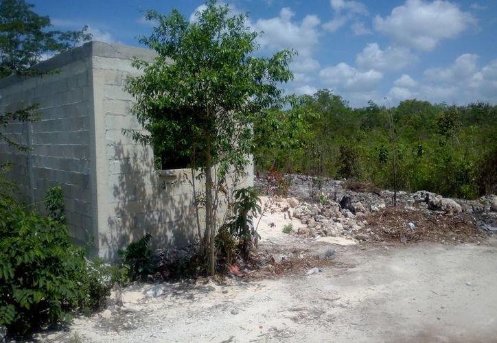La niña fue atacada en una obra en construcción. (Eric Galindo/SIPSE)