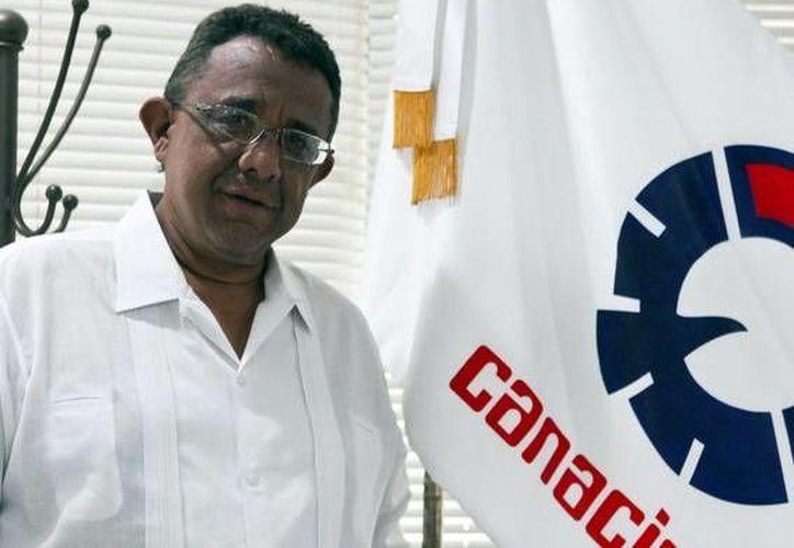 Mario Can Marín, presidente de la Canacintra Yucatán, no descartó que, fomentar la inclusión represente un detonante de productividad en las empresas. (SIPSE)