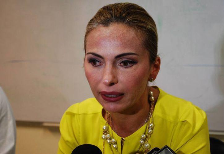 Sara Latife Ruiz Chávez señaló que la SEQ no cubre a tiempo las cuotas al Fovissste. (Tomás Álvarez/SIPSE)