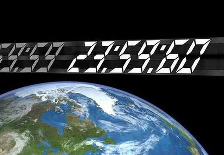 Este 30 de junio tendrá un segundo más y el reloj, en lugar de marcar 23:59:59 y pasar a las 00:00:00 del 1 de julio, pasará a las 23:59:60. (NASA.gov)