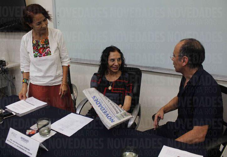 El programa de colaboración para la publicación de la columna se presentó en la Universidad del Caribe. (Israel Leal/SIPSE)