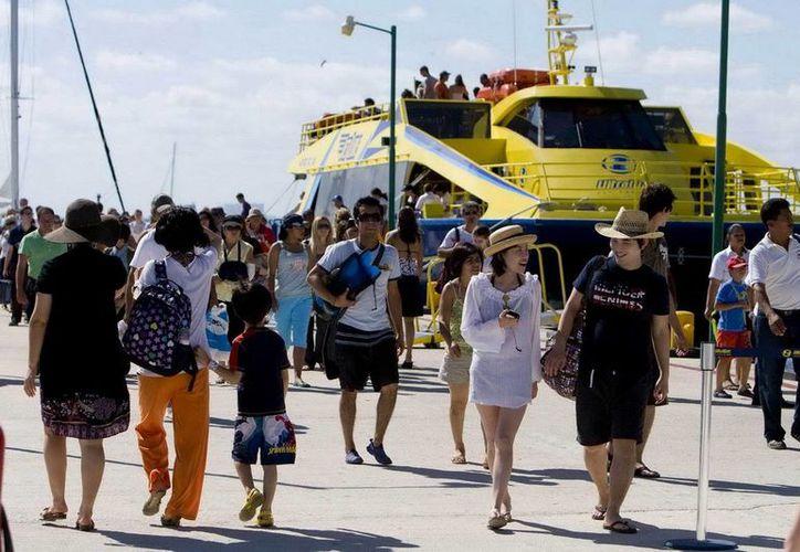Las Terminales Marítimas en el Estado ya se encuentran listas para recibir a los miles de turistas en diciembre. (Redacción/SIPSE)