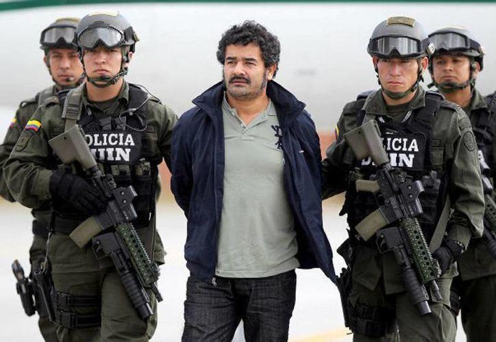 """Diego Pérez Henao alias """"Diego Rastrojo"""", considerado el jefe de Los Rastrojos, banda de origen paramilitar en Colombia. (Archivo Agencias)"""