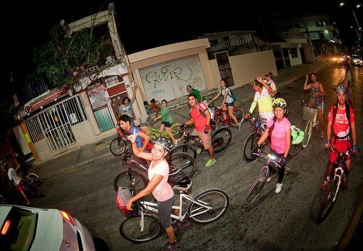 El recorrido es organizado por el grupo Bicineta. (Foto: Facebook)