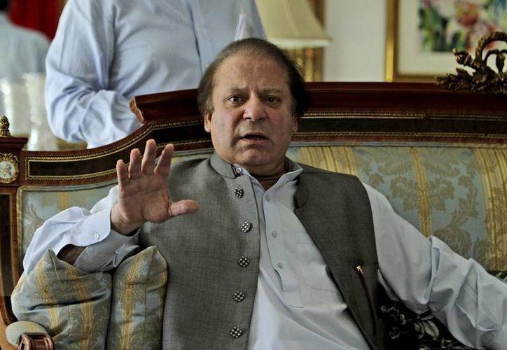 Sharif consideró que el sobrevuelo de aviones no tripulados estadunidense en territorio paquistaní es inaceptable. (Agencias)