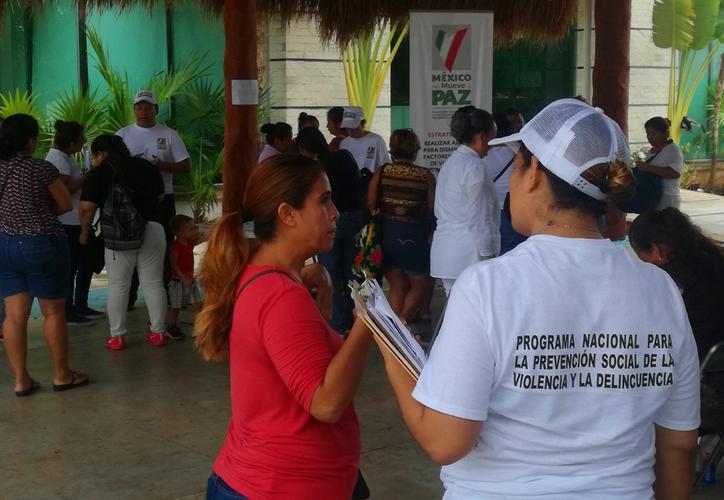 El DIF de Playa del Carmen organizó un evento para integrar a mujeres a un programa de prevención de la violencia. (Redacción/SIPSE)