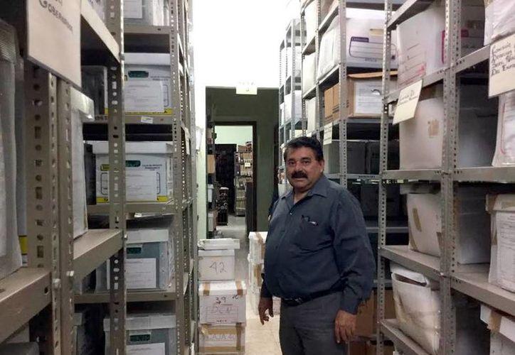 El Archivo General del Estado de Yucatán resguarda miles de documentos oficiales, muchos de ellos ya restaurados. (Milenio Novedades)