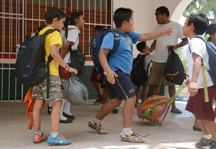 Los estudiantes tendrán 36 días de descanso. (Victoria González/SIPSE)