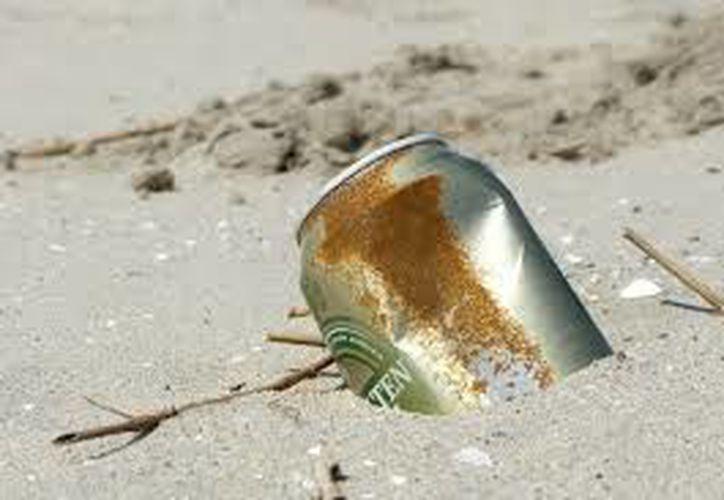 Las playas Norte y Centro en Isla Mujeres, se encuentran en el ranking de las más sucias. (Pxhere)