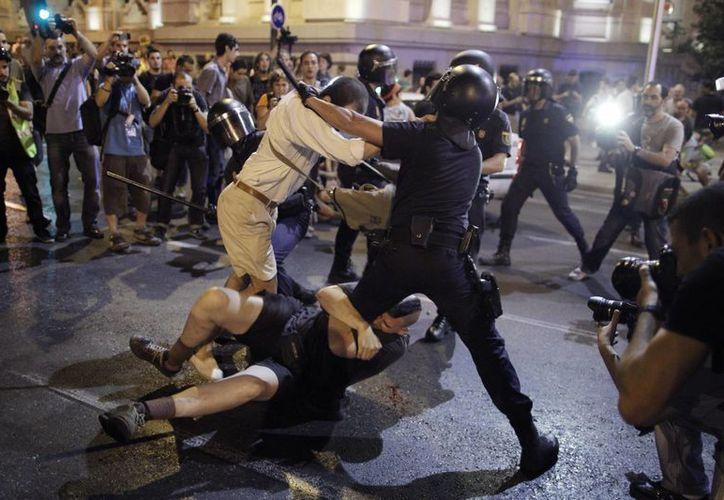 En Madrid, al menos una persona fue detenida. (Agencias)