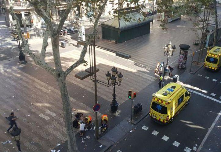 Según las autoridades, el suceso estaría relacionado con el atentado previo en Barcelona. (La Vanguardia)