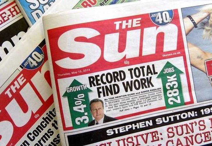 La edición irlandesa de The Sun dejó de utilizar modelos semidesnudas en 2013.(itv.com)