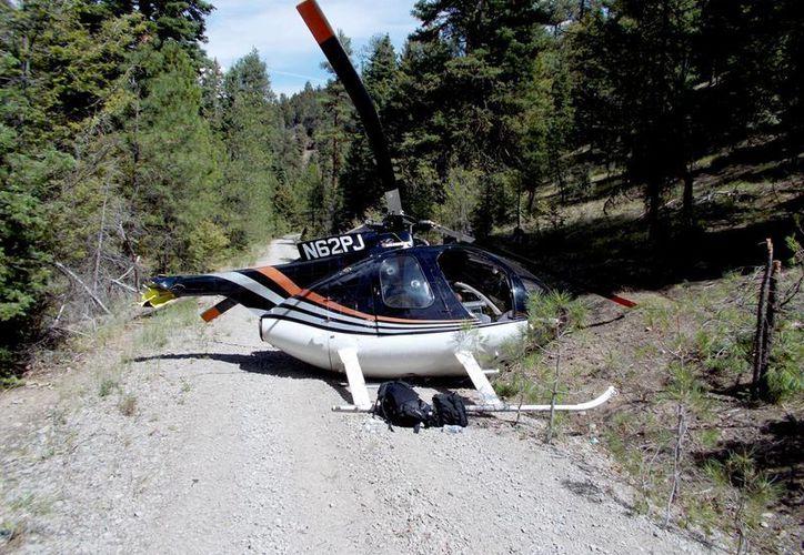 Se espera reanudar las operaciones en unas pocas semanas si se consigue otro helicóptero. (Agencias)