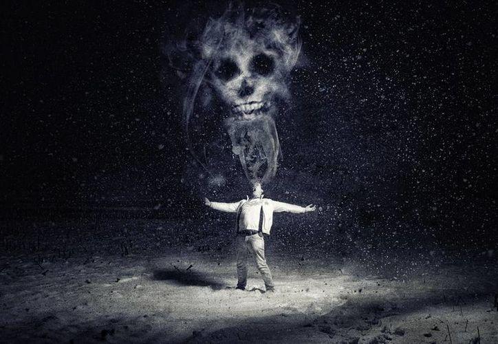 El diablo toma diversas formas para logar apoderarse de almas confiadas. (Jorge Moreno/SIPSE)