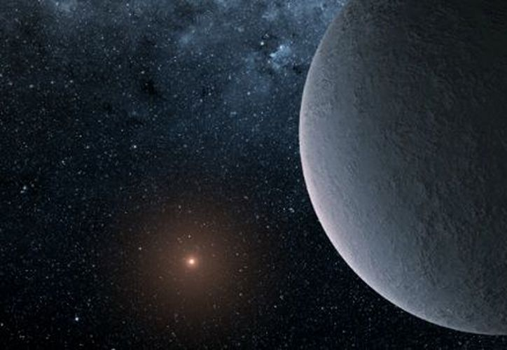 El planeta recién descubierto resultó ser, demasiado frío. (NASA)
