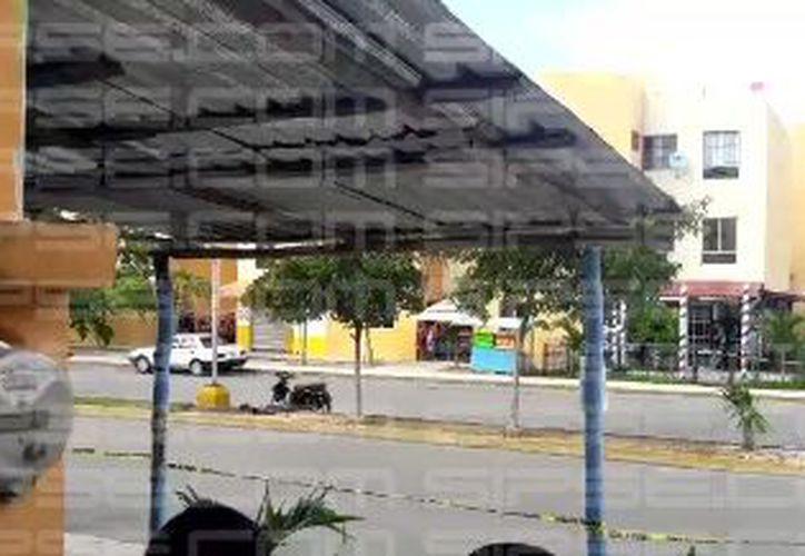 Hasta el momento se espera la llegada del Servicio Médico Forense. (Luis Hernádez/ SIPSE)