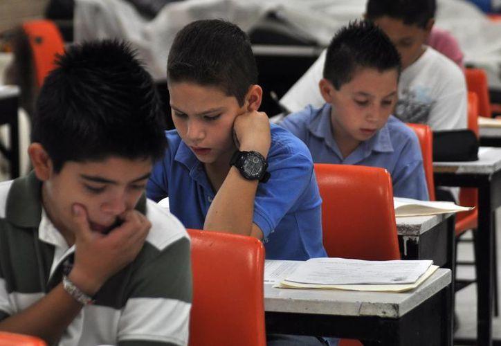 Mediante los estudiantes 'espías' las autoridades educativas han detectado niños víctimas de violencia intrafamiliar. La imagen es de referencia. (SIPSE)