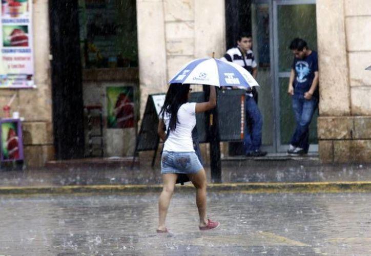El ingreso de humedad proveniente del Mar Caribe favorecería chubascos fuertes en gran parte de la Península de Yucatán. (SIPSE)