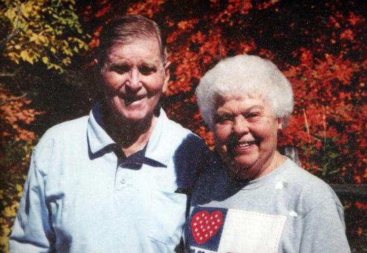 Jerry Dunn falleció mientras dormía la madrugada del jueves. Edith Dunn tuvo su último aliento horas después. (deseretnews.com)
