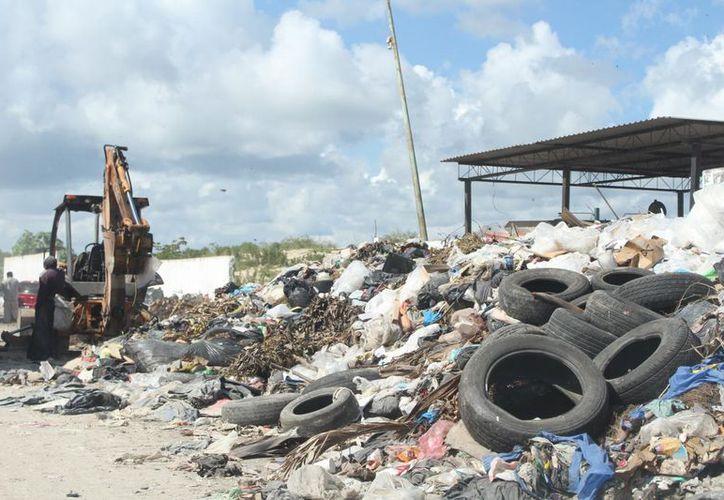 El Ayuntamiento de Ohtón P. Blanco fue multado con más de tres millones de pesos por el mal manejo de la basura. (Daniel Tejada/SIPSE)