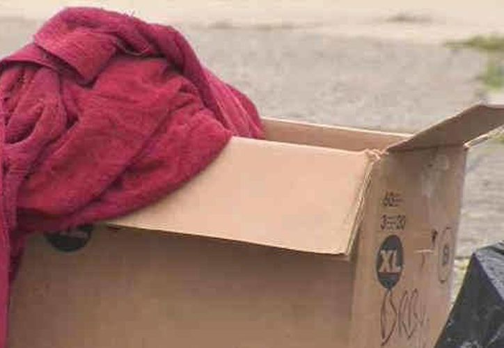 La caja fue abandonada en una calle de la delegación Venustiano Carranza. (Imagen de referencia/diariode3.com)