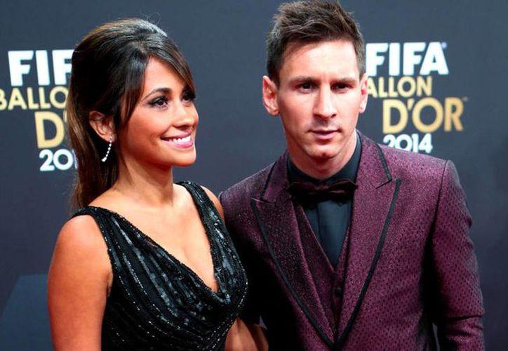 Lionel Messi y Antonela Roccuzzo finalmente dieron el 'sí acepto' ante el Registro Civil. (Diario AS)