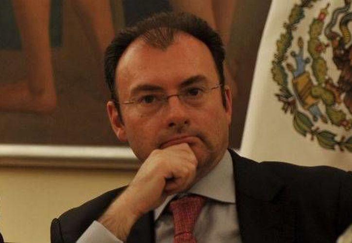 Videgaray: la reforma hacendaria podrá empezarse a ventilar en la segunda mitad de este año. (www.tvazteca.com/Foto de archivo)