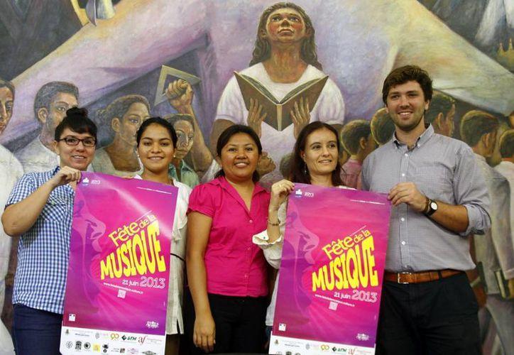 Presentan programa para evento internacional Fête de la Musique. (SIPSE)