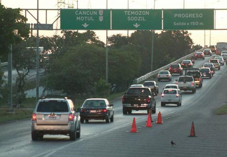 Este lunes inician obras en el Distribuidor Vial de salida a Progreso. (SIPSE)