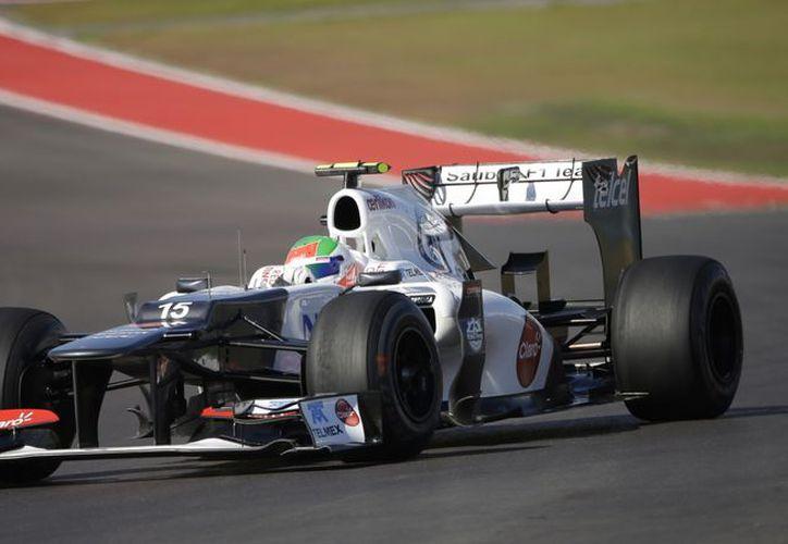 El C31 de Sauber tiene problemas de balance en el trazo texano. (Foto: Agencias)