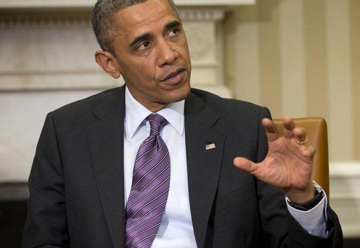 """El Presidente dijo que """"lo que tenemos ahora es una evaluación de inteligencia"""". (Agencias)"""