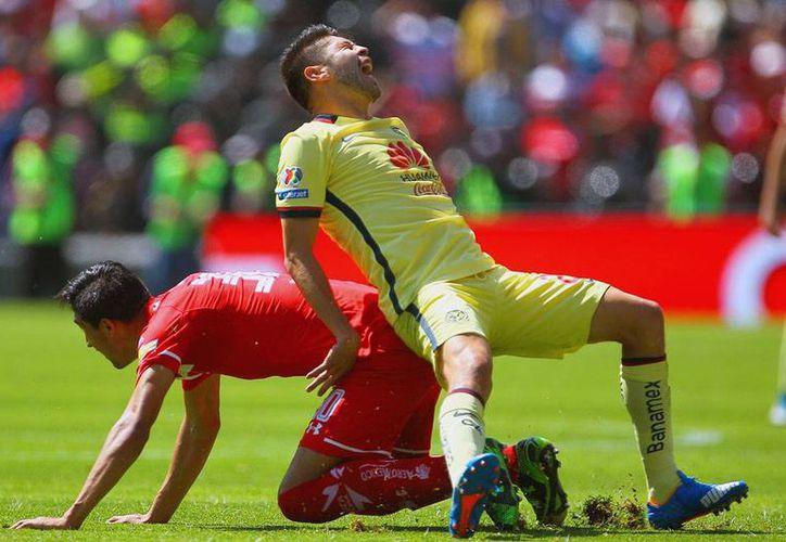 América aplastó a domicilio al Toluca, y de paso subió hasta la segunda posición en la tabla con igual número de puntos que Leon, pero como mejor diferencia de goles. (Jammedia)