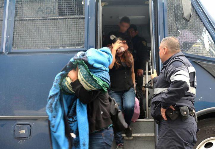 Los migrantes estaban en manos de un grupo delictivo. (EFE/Archivo)