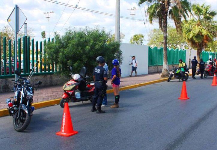 Las autoridades vigilarán distintos puntos de la ciudad, a partir de este viernes. (Daniel Pacheco/SIPSE)