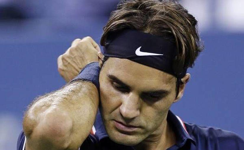 Federer no jugó en Mónaco, pero le benefició la derrota de Murray en ese torneo. (www.mediotiempo.com/Archivo)