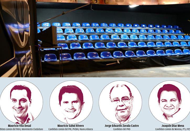 El debate de candidatos a Gobernador de Yucatán se llevará a cabo este miércoles 2 de mayo a las 20:00 horas. (SIPSE)