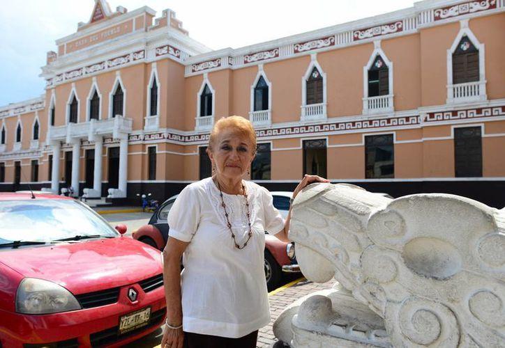 Guadalupe Grajales Martín se considera una mujer realizada profesional y personalmente. (Luis Pérez/SIPSE)