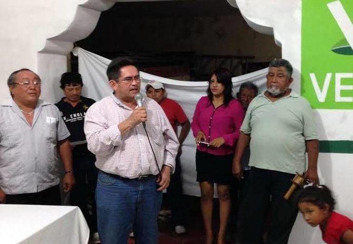 El PVEM dio la bienvenida a los expanistas. (Milenio Novedades)