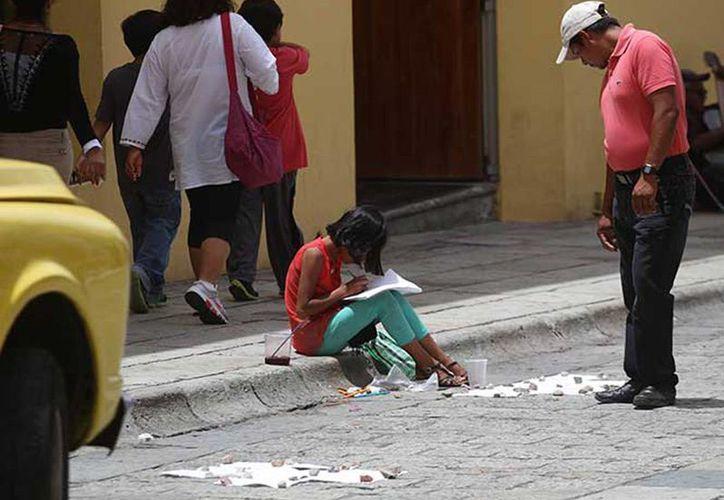 Alrededor el cuatro por ciento de la población infantil de 6 y 14 años no asiste a la escuela por varias causas. (excélsior.com.mx)