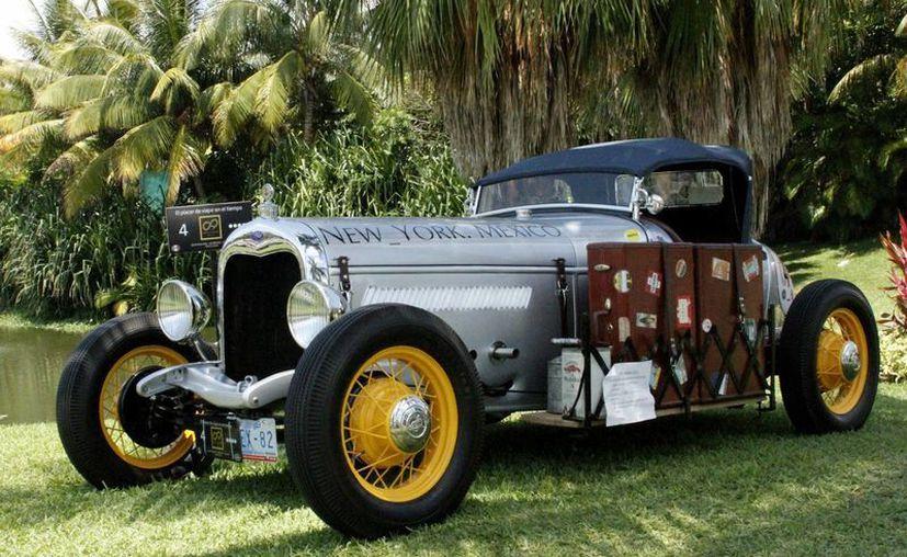 Con autos de diferentes partes del mundo, y de México principalmente, realizarán el Rally Maya 2014. (Francisco Gálvez/SIPSE)