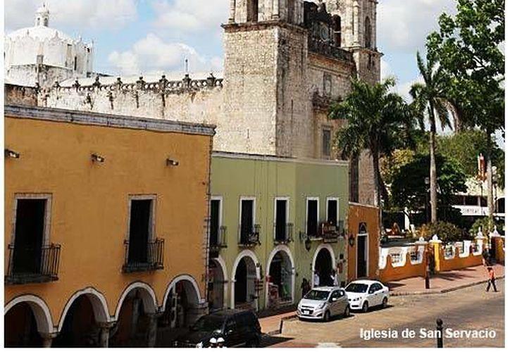 Foto oficial del Ayuntamiento de Valladolid, cuya administración actual asegura que heredó una deuda de 3 mdp por concepto de consumo de energía eléctrica.