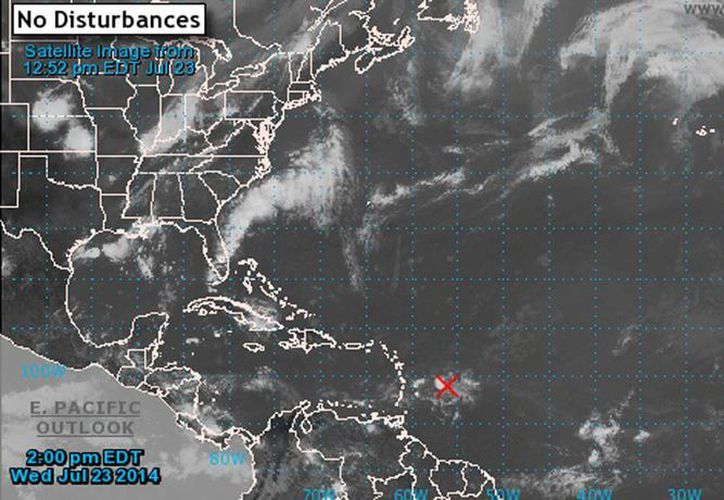El sistema genera vientos en ráfagas en las Islas de Barlovento y Sotavento, según el CNH. (nhc.noaa.gov)