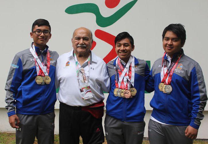 Los tres francotiradores caribeños eran los rivales a vencer, luego de que el domingo se habían llevado la primera de oro. (Miguel Maldonado/SIPSE)