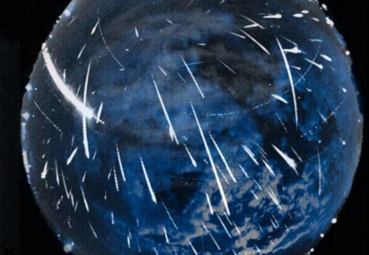 Según los astrónomos, la lluvia de meteoros no se vería en todo su esplendor como en años anteriores, debido a la contaminación lumínica de la Luna menguante. (nasa.gov)