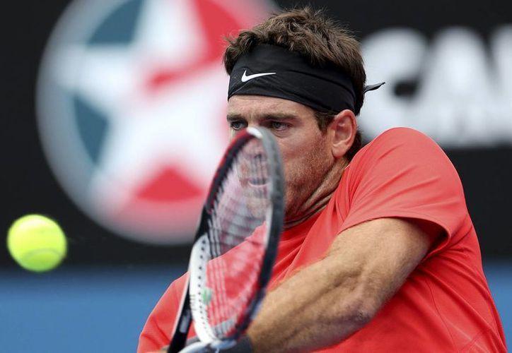 Tras vencer a Mahut, Del Potro (foto) se enfrentará ahora al checo Radek Stepanek en el torneo ATP de Sidney. (Agencias)