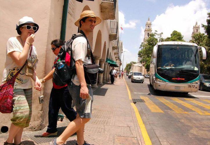 El Ayuntamiento de Mérida presenta los atractivos de la ciudad en el Viejo Continente. (Milenio Novedades)