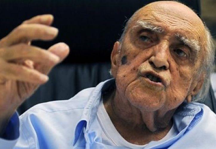 Una falsa noticia sobre la muerte de Niemeyer circuló el viernes por la noche en twitter y en Facebook. (Agencias)